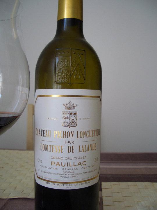 1998 Pichon Longueville Comtesse de Lalande | From Grapes to
