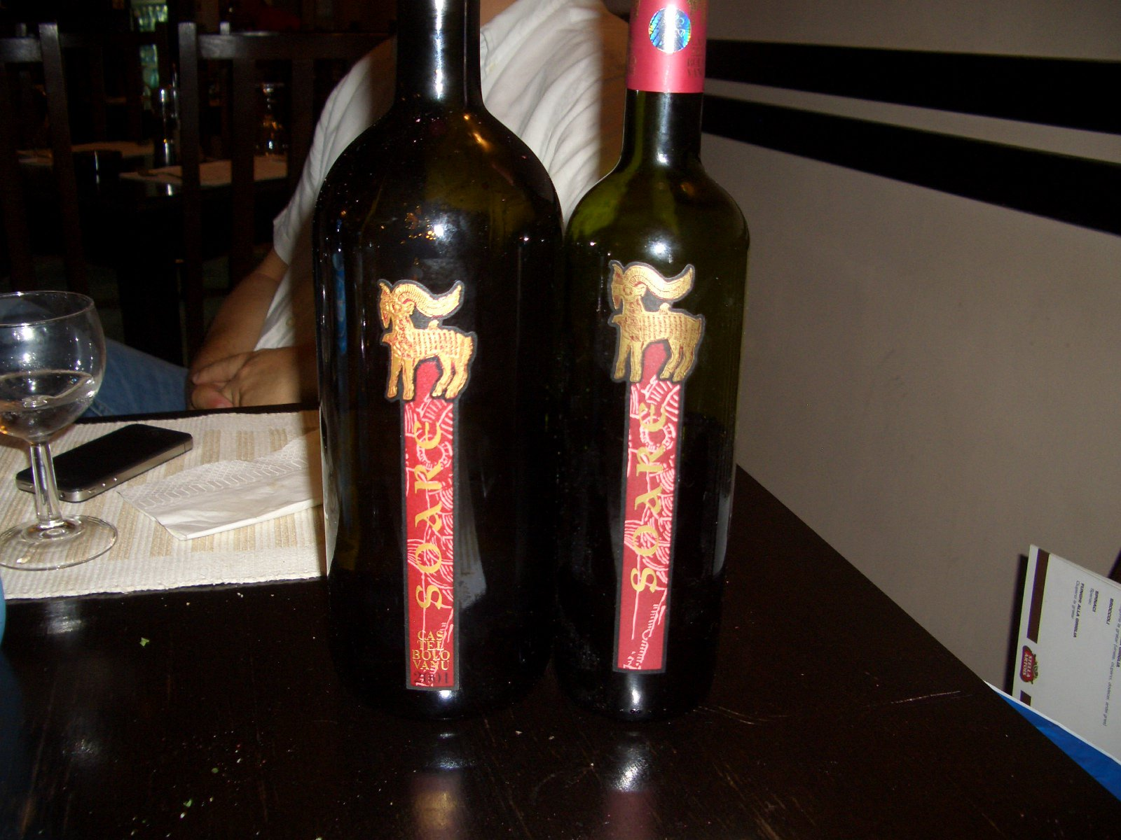 Soare 2001 Vs 2005 By Vinarte From Grapes To Wine